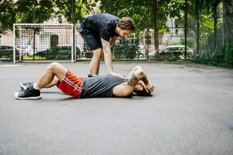 sportos térd sérülés)