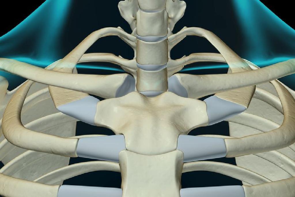 Deteriorarea sternului articulației claviculare