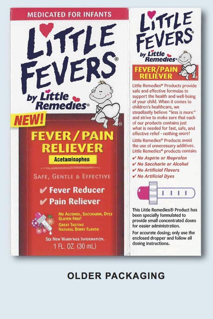 Buscar unha versión anterior de gotas concentradas de Tylenol .